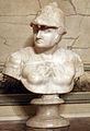 Bottega toscana, busto di san giorgio, XVI-XVII sec. 01.JPG