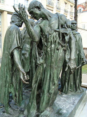 The Burghers of Calais - Image: Bourgeois de Calais, musée Rodin
