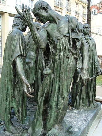 The Burghers of Calais - Image: Bourgeois de Calais, musée Rodin