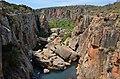Bourke's Luck Potholes, řeka Blyde river - Jihoafrická republika - panoramio.jpg