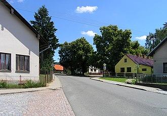 Bousov - Image: Bousov, common