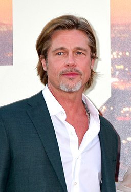 Brad Pitt 2019 by Glenn Francis (cropped)
