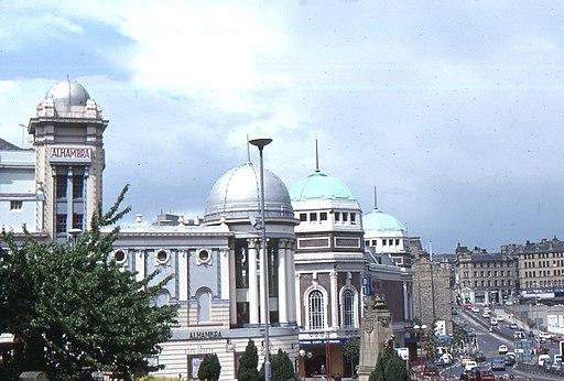Bradford, city centre and Alhambra Theatre (geograph 3263473)