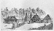 1764年的勃兰登堡门。