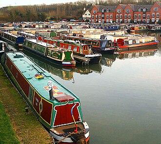 Braunston - Image: Braunston Marina