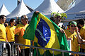 Brazil and Croatia match at the FIFA World Cup (2014-06-12; fans) 38.jpg