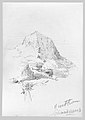Breithorn and Schmadribach Falls (from Switzerland 1870 Sketchbook) MET 50.130.148dd.jpg