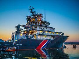 À quai à Brest 2012