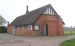 Brettenham village hall.