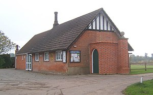 Brettenham, Suffolk - Brettenham village hall