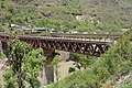 Bridge over River Sutlej - Chandigarh-Manali Highway - NH-21 - Slapper - Mandi 2014-05-09 2136.JPG