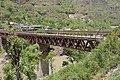 Bridge over River Sutlej - Chandigarh-Manali Highway - NH-21 - Slapper - Mandi 2014-05-09 2136.JPG