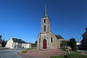 Brie, Ille-et-Vilaine - The church of Brie