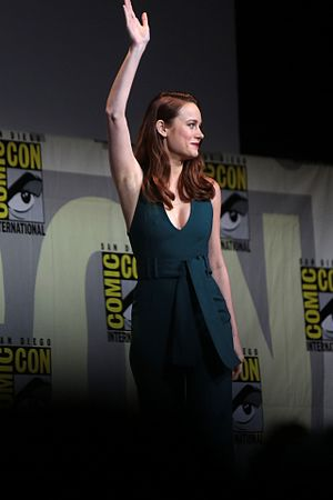 Brie Larson - Larson being introduced at San Diego Comic-Con, 2016