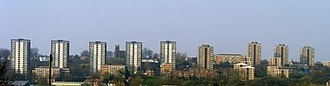Brierley Hill - Image: Brierley hill flats 2