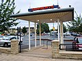 Brighouse - Pedestrian entrance into Sainsbury's carpark - geograph.org.uk - 520559.jpg