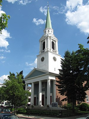 Brighton Center Historic District - Brighton Allston Congregational Church