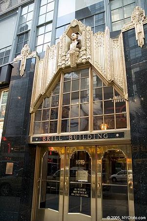 Brill Building (genre) - The Brill Building pictured in 2009