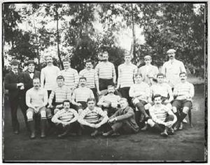 1896 British Lions tour to South Africa - The British Isles team of 1896