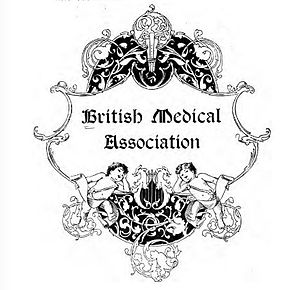 British Medical Association - Logo used for the BMA's Sixty-fifth Annual Meeting, Montreal, 1897