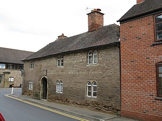 Bromyard - Bromyard almshouses - geograph.org.uk - 955563 in the oldest part of the town