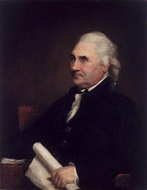 Isaac Barré - Colonel Isaac Barré, 1785, by Gilbert Stuart