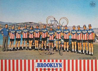 Brooklyn (cycling team) - The Brooklyn team of 1975