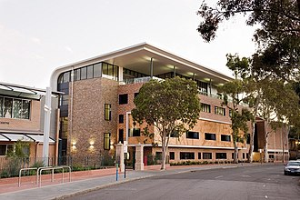 Trinity College, Perth - Image: Brother O'Doherty Cultural Centre