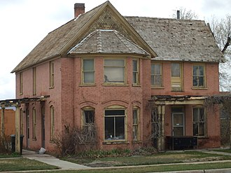 National Register of Historic Places listings in Carbon County, Utah - Image: Bryner House Price Utah