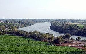 Buckingham Canal - Buckingham Canal near Vijayawada, Andhra Pradesh