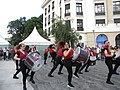 Bucuresti, Romania. Festivalul International de Teatru de Strada.13 Iulie- 5 August 2018. Formatia Batucada Timba (Spania).jpg