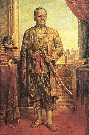 Monarchy of Thailand - Thongduang, later King Rama I of Siam, founded the Chakri dynasty in 1782.