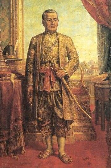 Buddha Yodfa Chulaloke portrait