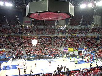 Fernando Buesa Arena - Image: Buesa Arena Indoors