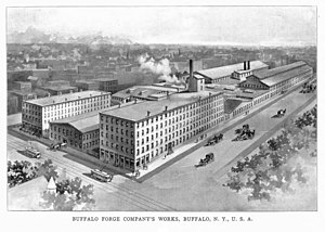 Buffalo Forge Company - The Buffalo Forge Co. works, about 1899
