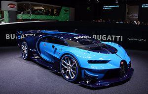Bugatti Vision Gran Turismo - Image: Bugatti Vision at IAA 2015 in Frankfurt