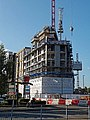 Building construction at Tottenham Hale, Haringey 2.jpg