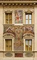 Building piazza di San Eustachio, CoA Pius IV, Rome, Italy.jpg