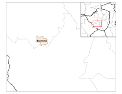 Location of Bulawayo Province