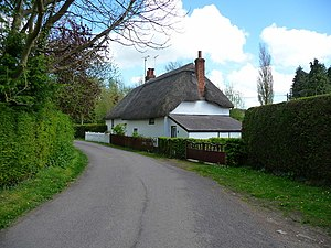 Bulford - Image: Bulford Old Coach Road geograph.org.uk 1279834
