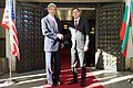 Bulgarian Foreign Minister Mitov Welcomes Secretary Kerry to Ministry of Foreign Affairs in Sofia (16098114868).jpg