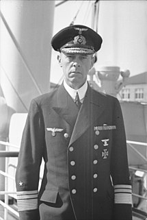 aa26fa46bc3 German Vice Admiral Günther Lütjens during World War II