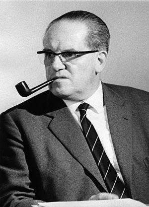 Herbert Wehner - Image: Bundesarchiv Bild 175 Z02 00866, Herbert Wehner