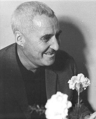 Konstantin Simonov - Simonov in Berlin in 1967