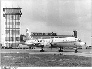 Erfurt–Weimar Airport - Erfurt Airport in 1979
