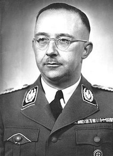 Heinrich Himmler High Nazi Germany official, head of the SS