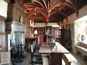 Solar (room) - South Solar of Bunratty Castle