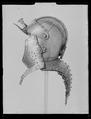 Burgonet med lång nackskärm. 1600-talets första hälft - Livrustkammaren - 44953.tif