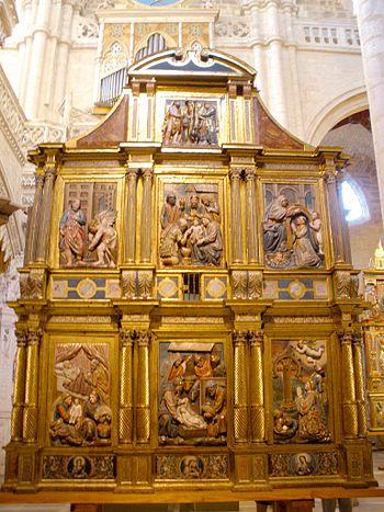 Burgos - San Esteban%2C Retablo de los Reyes Magos