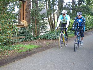 Burke-Gilman Trail - Image: Burke Gilman Cat 3462